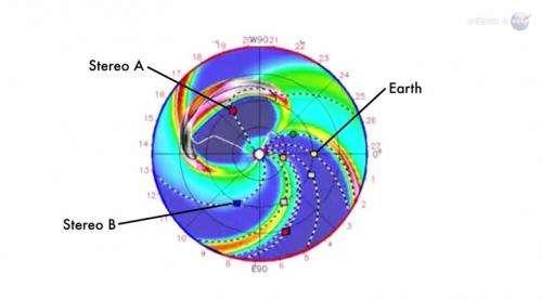 Carrington-class CME narrowly misses earth