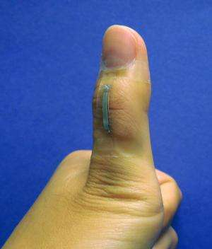 Silver nanowire sensors hold promise for prosthetics, robotics