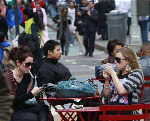 Smoking rates on the rise in New York City