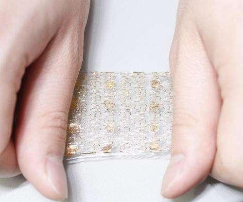 Bridging sensory gap between artificial and real skin