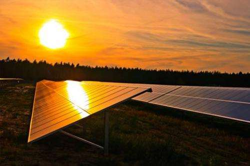 Study finds unprecedented production of metals needed to meet some solar energy goals