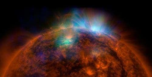 Sun sizzles in high-energy X-rays