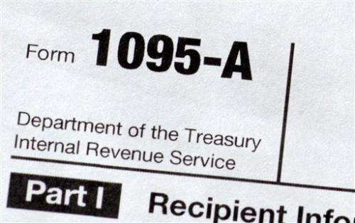 Tax forms could pose challenge for HealthCare.gov