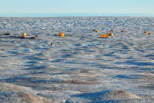 Team advances understanding of the Greenland Ice Sheet's meltwater channels