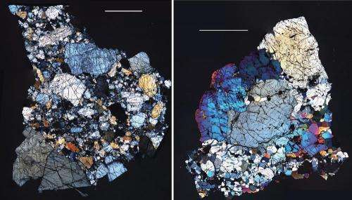 The Abundance of Water in Asteroid Fragments