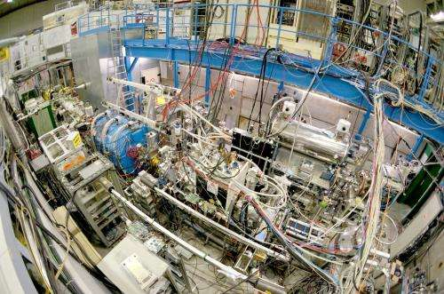 The debut of the antihydrogen beam
