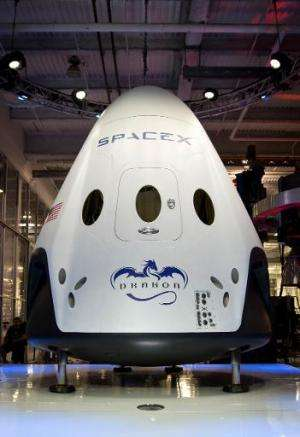 The Dragon V2 will take US astronauts to and from the International Space Station from the United States under groundbreaking co
