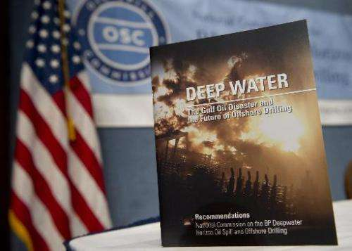 The National Oil Spill Commission's report of recommendations following the BP Deepwater Horizon Oil Spill in the Gulf of Mexico