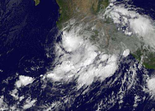 The quick life and death of Tropical Storm Trudy