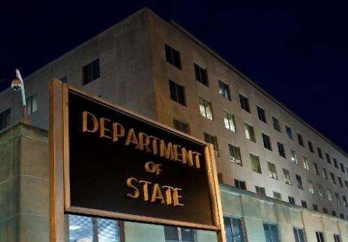 The US State Department shut down its unclassified computer network over the weekend following suspected hacking