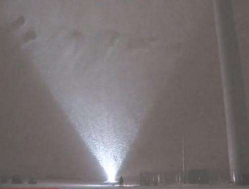 New study uses blizzard to measure wind turbine airflow (w/ Video)
