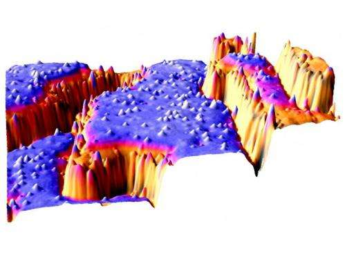 Tiny step edges, big step for surface science