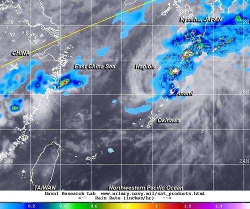 Tropical depression Hagibis gets a second chance