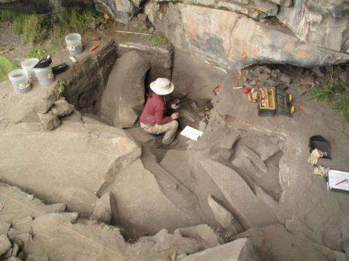 Archaeologists document highest altitude ice age human occupation in Peruvian Andes