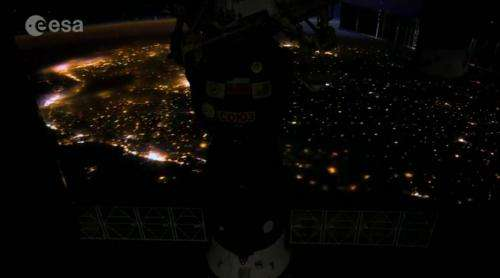 Ultra-high definition timelapse from the space station