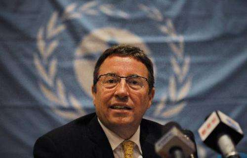 UNEP Executive Director Achim Steiner, pictured in Kenya in January 2013, says taking care of sanctuaries was critical to tackli
