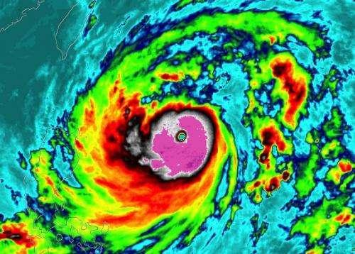 Tropical cyclone intensity shifting poleward, study shows