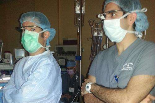 Using Google Glass in the operating room