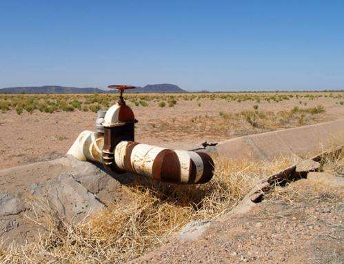 U.S. Southwest water availability reductions ahead according to research that reveals spring drying trends