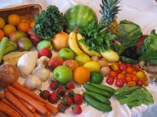 vegetables , fruits