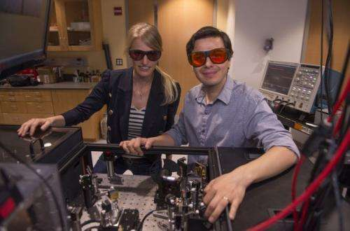 Watching chemistry in motion: Chemical environments mapped using molecular vibrations