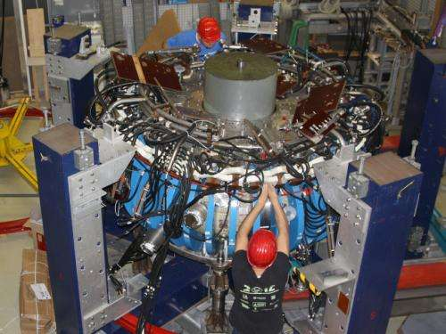 WEGA fusion experiment passed on to the USA