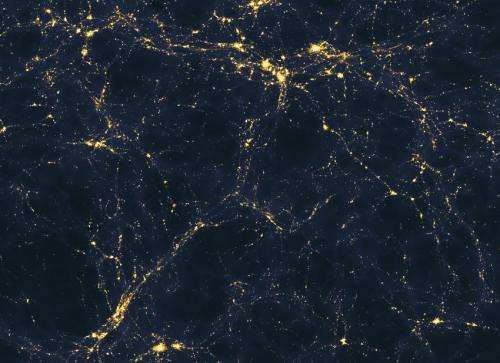 What lit up the universe?