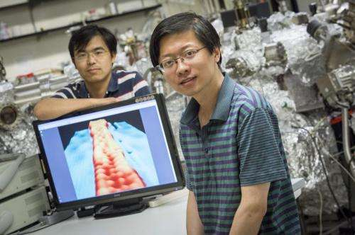 With 'ribbons' of graphene, width matters