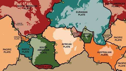 World's tectonic plate movement mapped