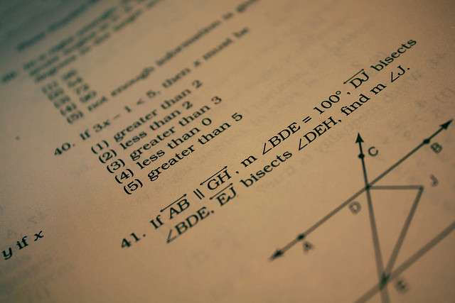 AI system solves SAT geometry questions as well as average human test taker