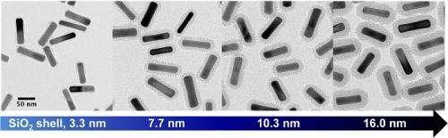 An improved method for coating gold nanorods