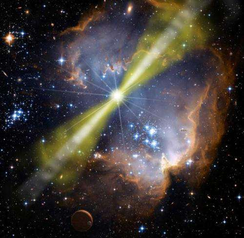 Are gamma ray bursts dangerous?