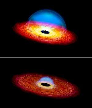 Black hole on a diet creates a 'changing look' quasar