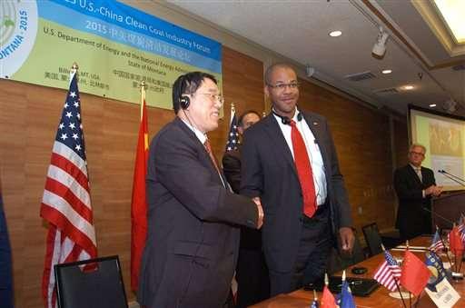 China, US seek 'clean coal' agreement as industry struggles