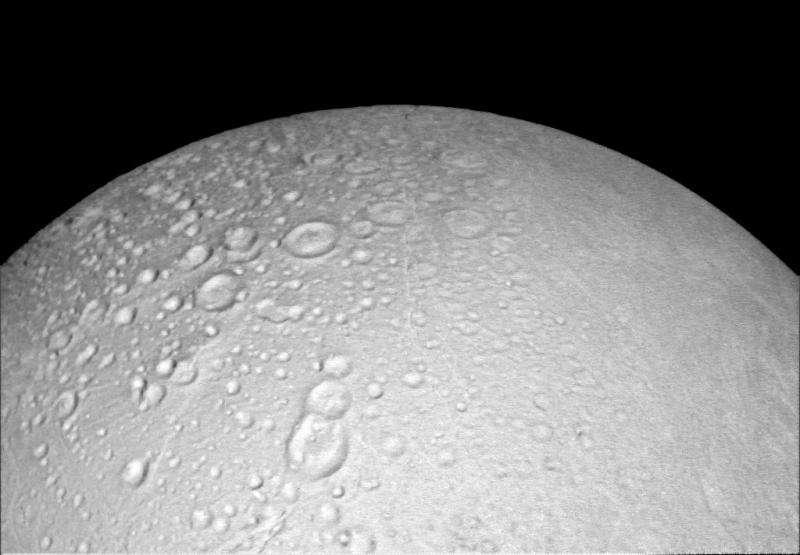 Closest northern views of Saturn's moon Enceladus