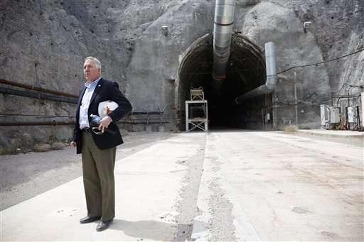 Congress group tours Yucca Mountain nuke dump site in Nevada