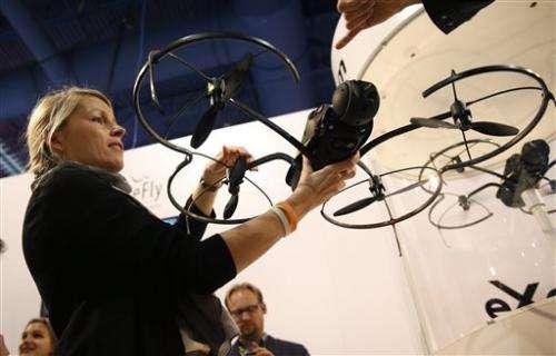 Drones at CES: Sky's the Limit