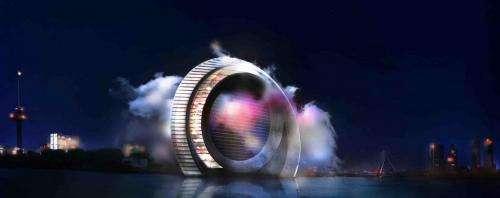 Dutch Windwheel draws energy innovations
