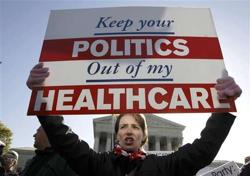 Five things to know about US public opinion on health care case
