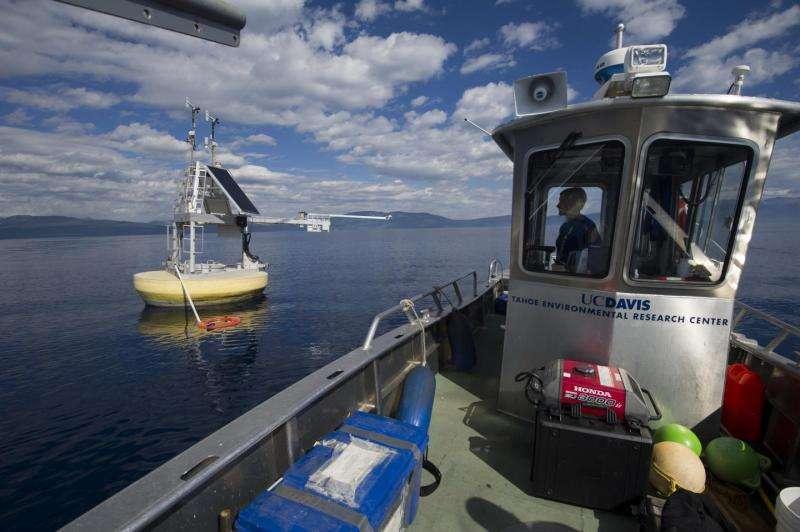Keep Tahoe blue? Less algae, not clarity, key for lake's blueness