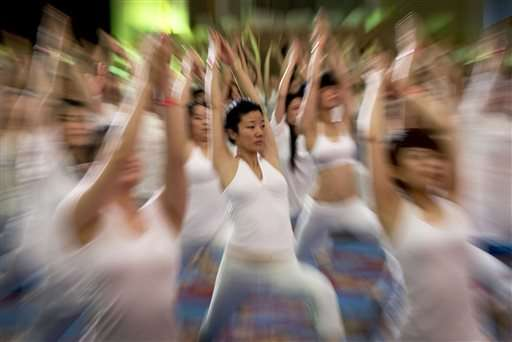 Millions across India, world bend and twist in 1st Yoga Day