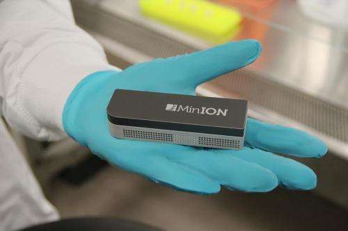 Mobile DNA sequencer shows potential for disease surveillance