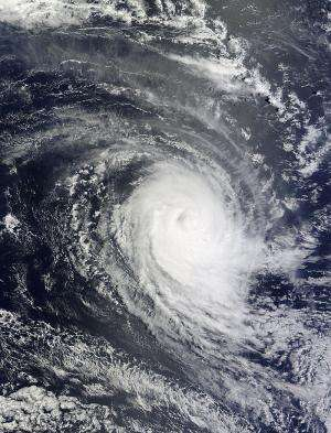 NASA catches speedy Tropical Cyclone Eunice transitioning