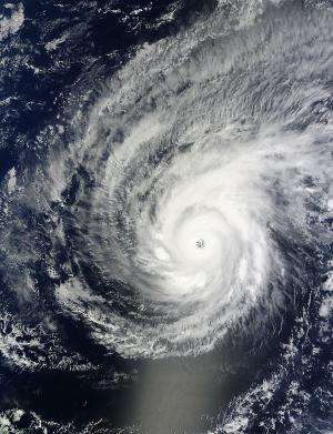 NASA covers Super Typhoon Maysak's rainfall, winds, clouds, eye