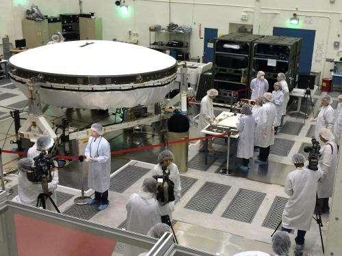 NASA live-streamed Low-Density Supersonic Decelerator test