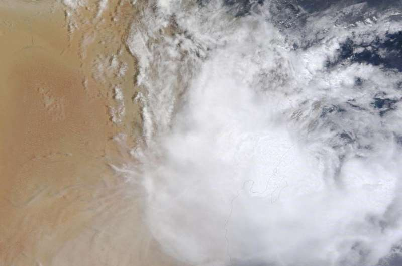 NASA's Terra Satellite Sees tropical cyclone Ashobaa landfall in Oman