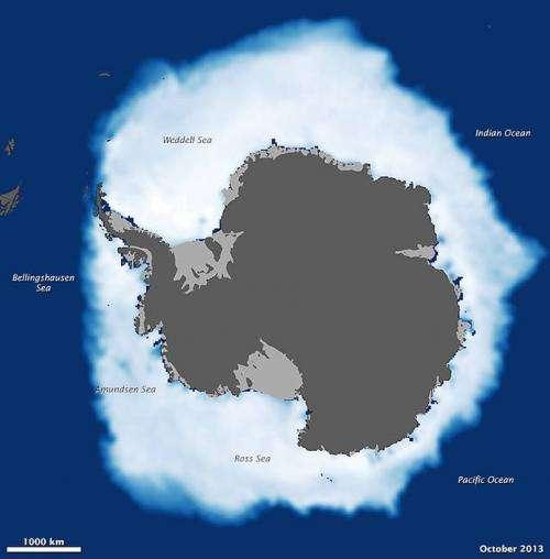 NASA study shows global sea ice diminishing, despite Antarctic gains