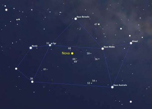 New Binocular Nova Discovered in Sagittarius