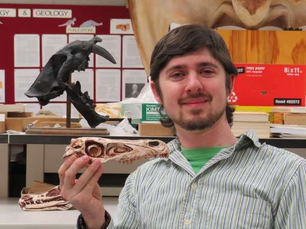 New dinosaur's keen nose made it a formidable predator, study finds