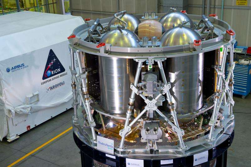 Orion's European module ready for testing